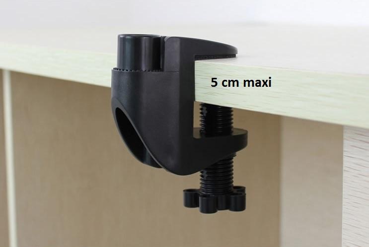 épaisseur maxi 5 cm