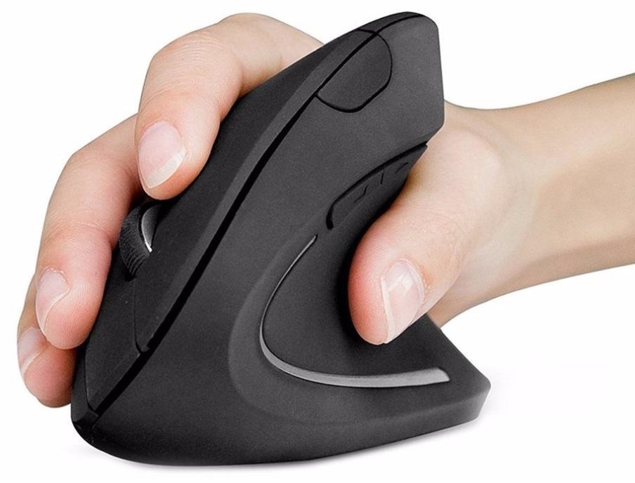 sourie verticale sans fil ergonomique pour soulager vos douleurs au poignet