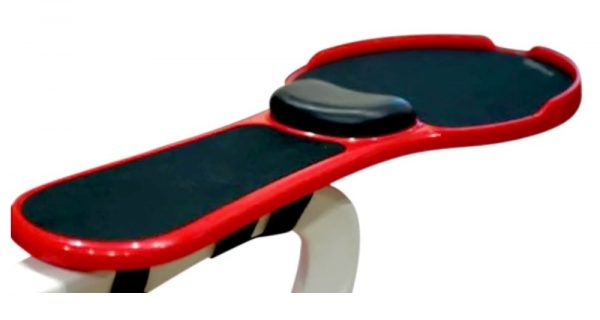 Accoudoir ergonomique avec tapis de souris intégré