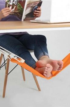 Repose-pieds hamac pour bureau