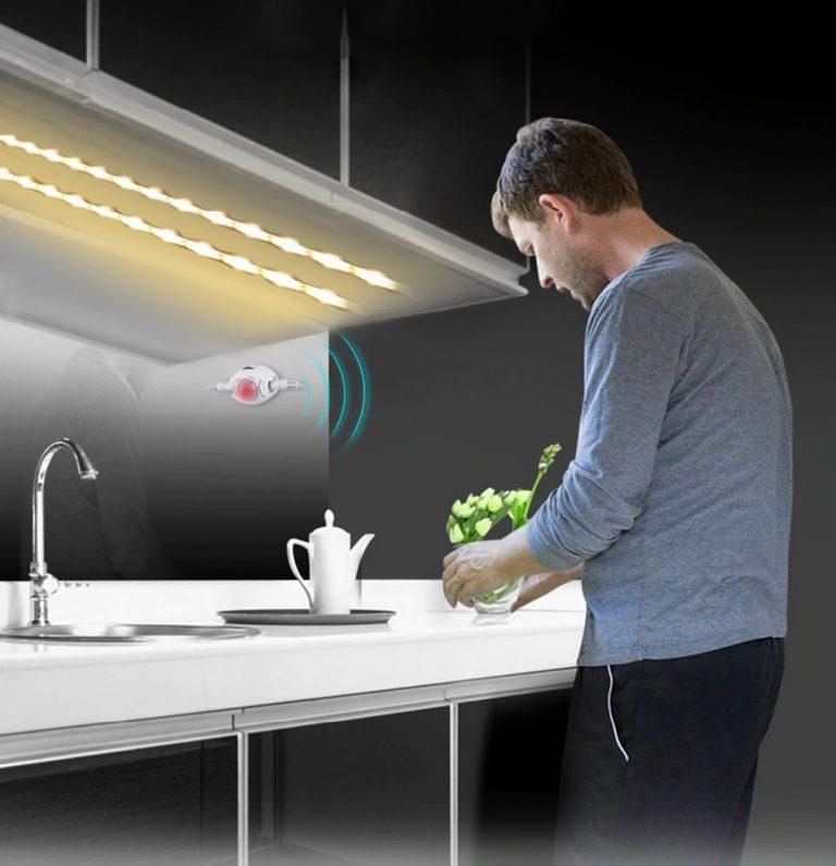 Eclairage avec détecteur de présence