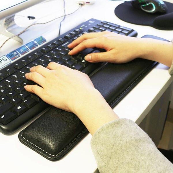 Repose poignet pour clavier d'ordinateur